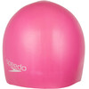 speedo Plain Moulded Silicone Cap orchid